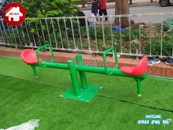 Lắp đặt đồ chơi ngoài trời tại khu vui chơi cho bé tại Phúc La, Hà Đông-10