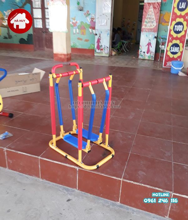 Lắp đặt nhà khối đa năng, bộ tập gym tại Bắc Ninh-7