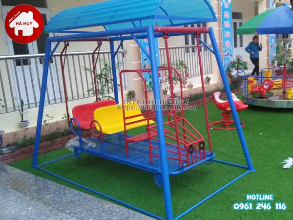 Sản xuất lắp đặt đồ chơi mầm non ngoài trời tại Hà Nam-4