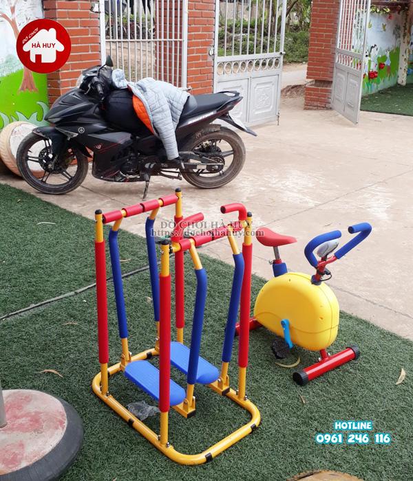 Sản xuất lắp đặt đồ chơi ngoài trời cho trường mầm non tại Hải Phòng-10