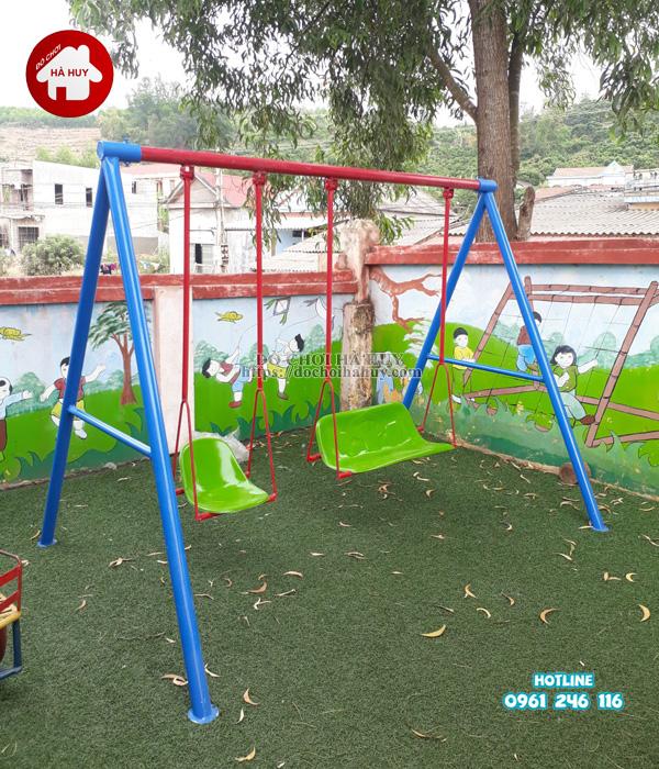 Sản xuất lắp đặt đồ chơi ngoài trời cho trường mầm non tại Hải Phòng-3