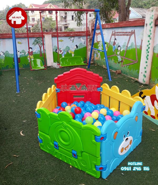 Sản xuất lắp đặt đồ chơi ngoài trời cho trường mầm non tại Hải Phòng-6
