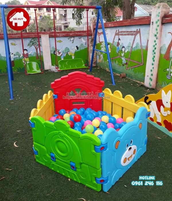 Sản xuất lắp đặt đồ chơi ngoài trời cho trường mầm non tại Hải Phòng-7
