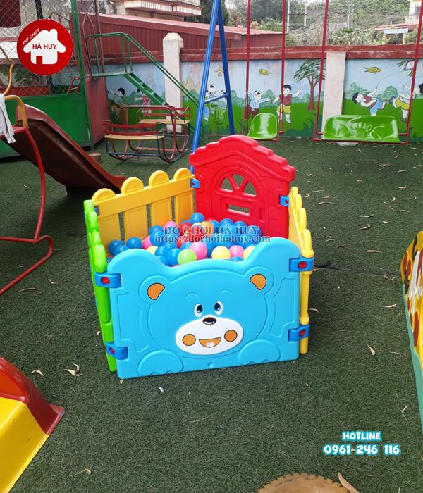 Sản xuất lắp đặt đồ chơi ngoài trời cho trường mầm non tại Hải Phòng-8