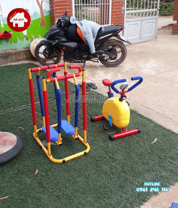 Sản xuất lắp đặt đồ chơi ngoài trời cho trường mầm non tại Hải Phòng-9