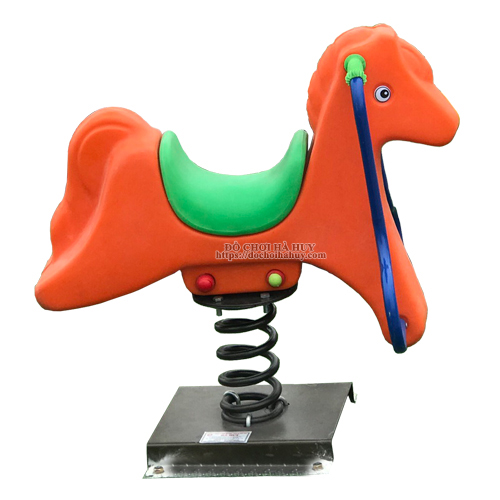 Thú nhún lò xo cho bé con ngựa nhập khẩu HB2-021