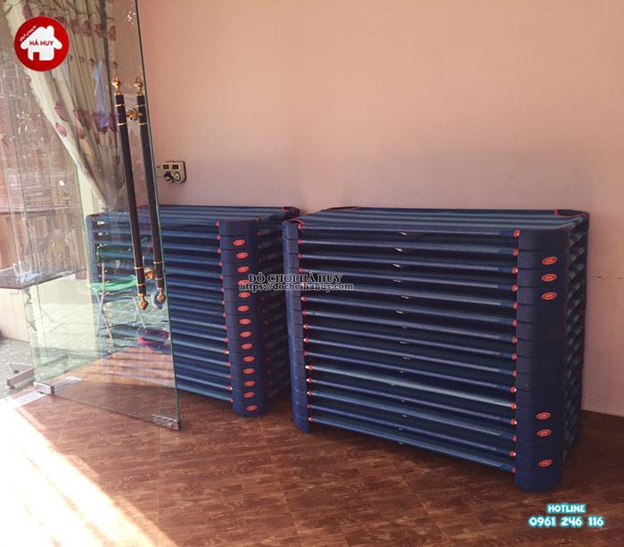 Sản xuất lắp đặt nhà bóng, đồ chơi mầm non tại Nam Định-13