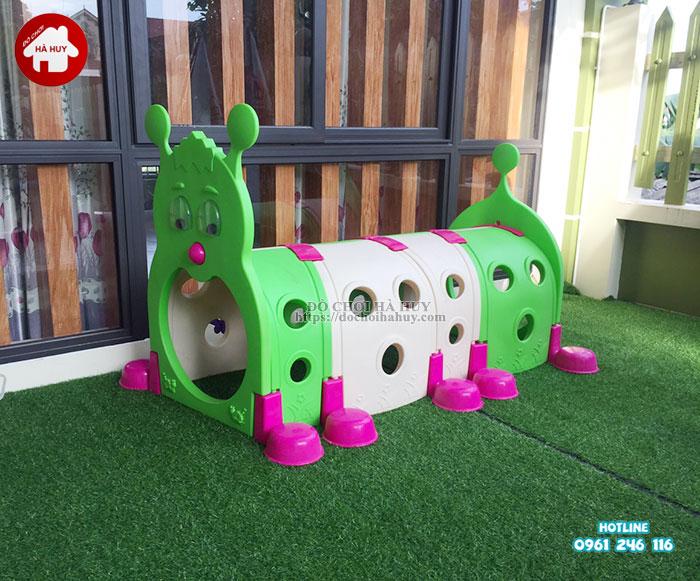 Sản xuất lắp đặt nhà bóng, đồ chơi mầm non tại Nam Định-4