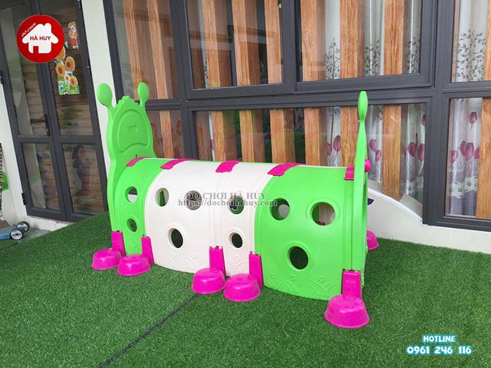 Sản xuất lắp đặt nhà bóng, đồ chơi mầm non tại Nam Định-5