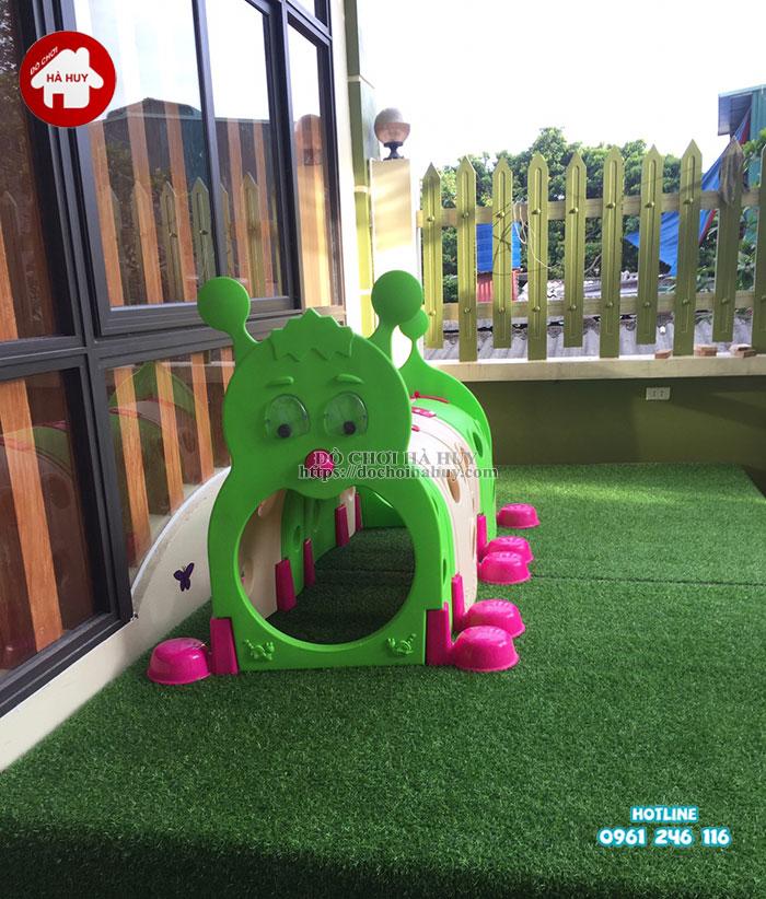 Sản xuất lắp đặt nhà bóng, đồ chơi mầm non tại Nam Định-6