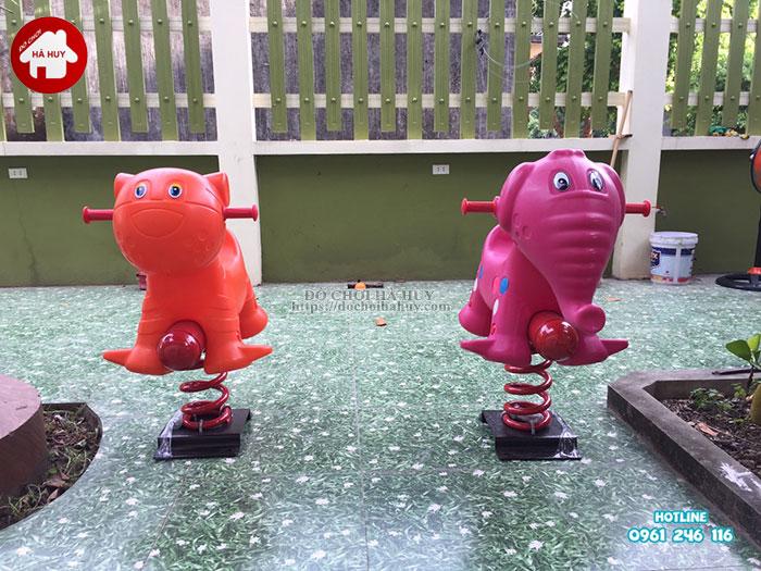 Sản xuất lắp đặt nhà bóng, đồ chơi mầm non tại Nam Định-8