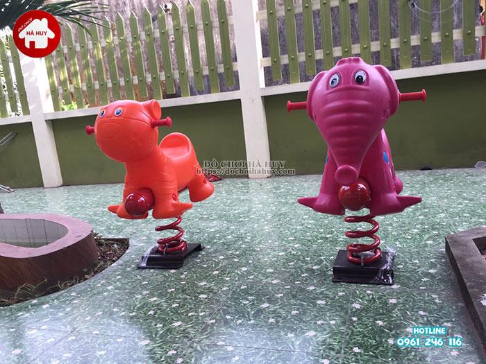 Sản xuất lắp đặt nhà bóng, đồ chơi mầm non tại Nam Định-9