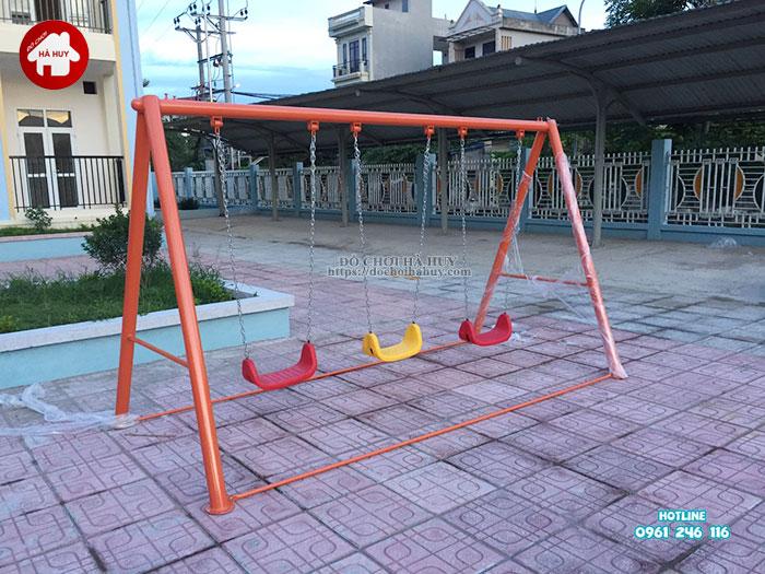 Lắp đặt bàn giao đồ chơi ngoài trời cho trường mầm non tại Hà Nội-10