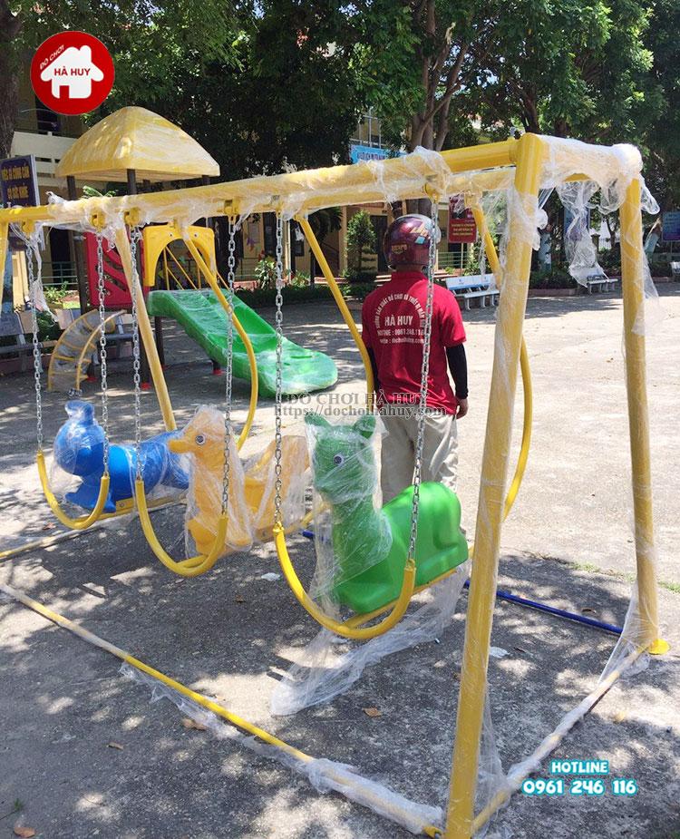 Sản xuất lắp đặt đồ chơi ngoài trời cho trường mầm non tại Bắc Giang-4