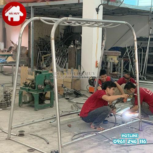 Thang leo đu tay vách dây cho bé mầm non HB1-014-1