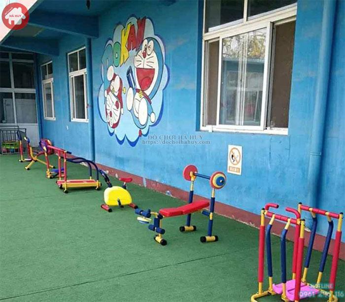 Bộ bước chân máy tập gym cho bé HA7-004A