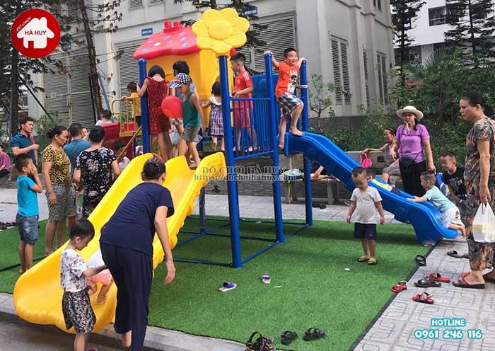 Lắp đặt đồ chơi ngoài trời tại chung cư HH Linh Đàm, Hà Nội Lap-dat-choi-ngoai-troi-tai-chung-cu-hh-linh-dam-ha-noi-11