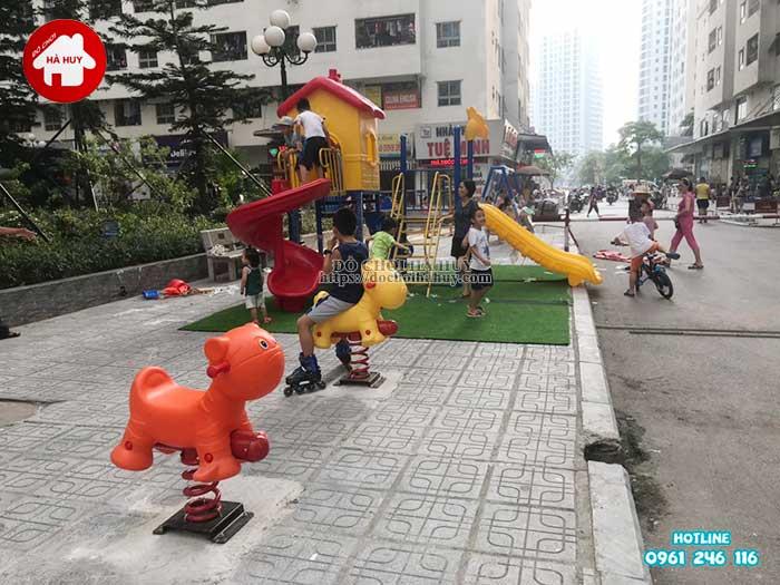 Lắp đặt đồ chơi ngoài trời tại chung cư HH Linh Đàm, Hà Nội Lap-dat-choi-ngoai-troi-tai-chung-cu-hh-linh-dam-ha-noi-16