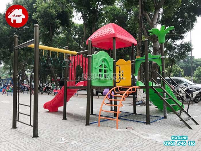 Lắp đặt đồ chơi ngoài trời tại chung cư HH Linh Đàm, Hà Nội Lap-dat-choi-ngoai-troi-tai-chung-cu-hh-linh-dam-ha-noi-3