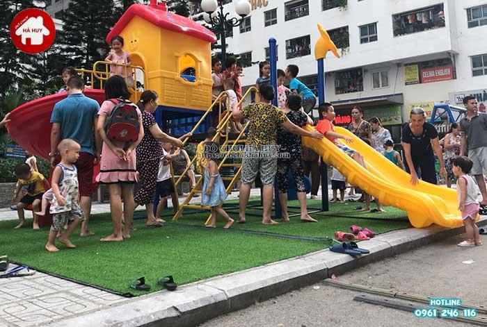 Lắp đặt đồ chơi ngoài trời tại chung cư HH Linh Đàm, Hà Nội Lap-dat-choi-ngoai-troi-tai-chung-cu-hh-linh-dam-ha-noi-8