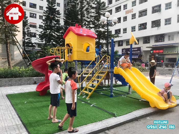 Lắp đặt đồ chơi ngoài trời tại chung cư HH Linh Đàm, Hà Nội Lap-dat-choi-ngoai-troi-tai-chung-cu-hh-linh-dam-ha-noi-9