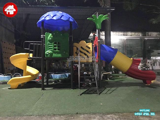 Lắp đặt nhà khối liên hoàn tại trường mầm non ở Nam Định-4