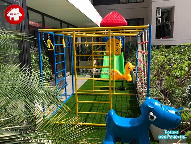 Sản xuất đồ chơi ngoài trời cho trường mầm non tại Hà Nội-1
