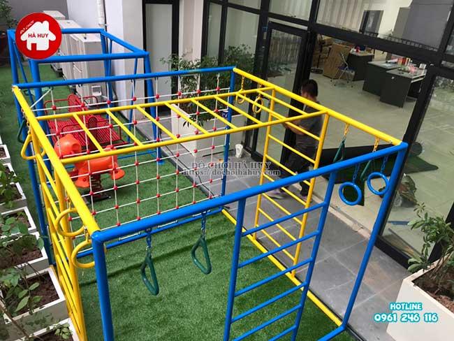 Sản xuất đồ chơi ngoài trời cho trường mầm non tại Hà Nội-10