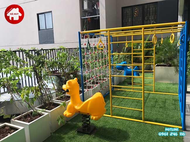 Sản xuất đồ chơi ngoài trời cho trường mầm non tại Hà Nội-11