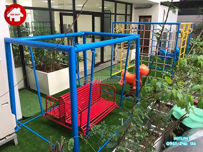 Sản xuất đồ chơi ngoài trời cho trường mầm non tại Hà Nội-12