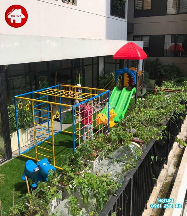Sản xuất đồ chơi ngoài trời cho trường mầm non tại Hà Nội-4