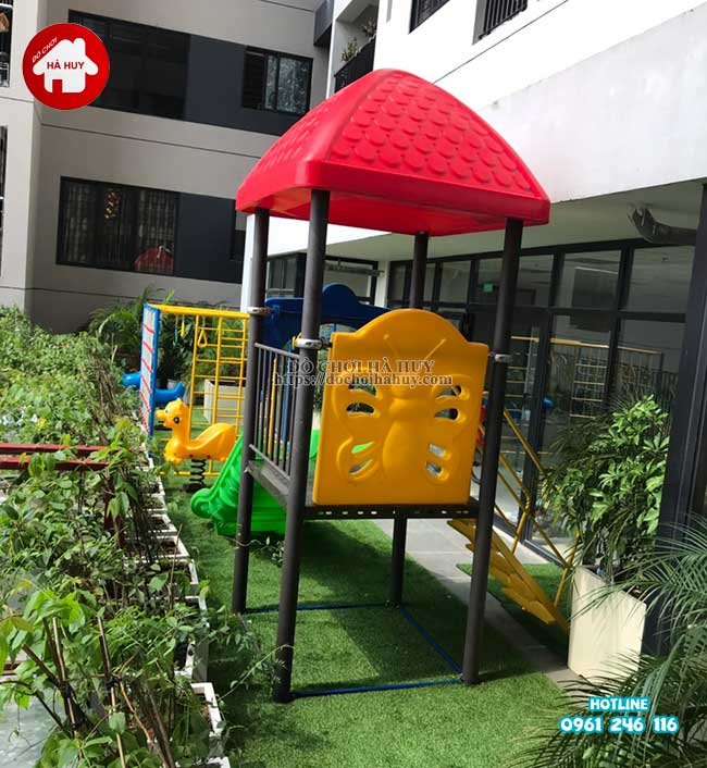 Sản xuất đồ chơi ngoài trời cho trường mầm non tại Hà Nội-7