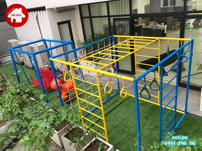 Sản xuất đồ chơi ngoài trời cho trường mầm non tại Hà Nội-9