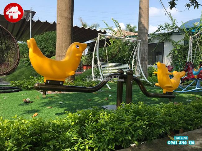 Sản xuất lắp đặt đồ chơi ngoài trời cho quán café vườn tại Hà Nội-10