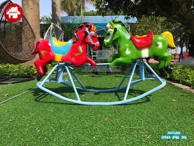 Sản xuất lắp đặt đồ chơi ngoài trời cho quán café vườn tại Hà Nội-11