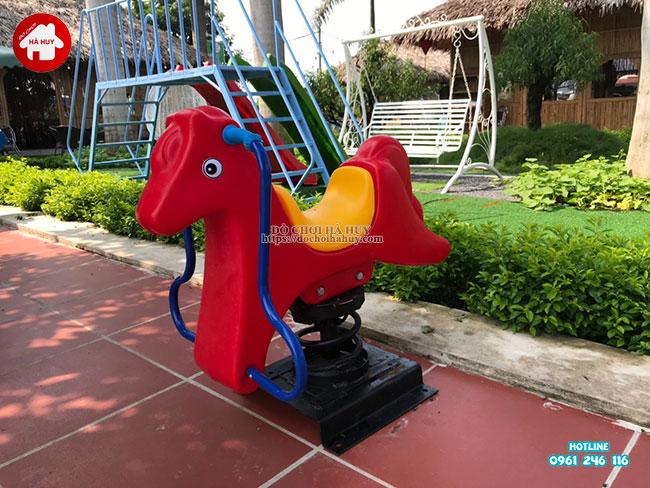Sản xuất lắp đặt đồ chơi ngoài trời cho quán café vườn tại Hà Nội-12