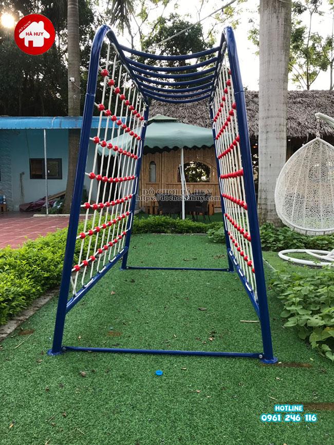 Sản xuất lắp đặt đồ chơi ngoài trời cho quán café vườn tại Hà Nội-5