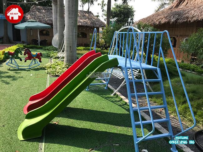 Sản xuất lắp đặt đồ chơi ngoài trời cho quán café vườn tại Hà Nội-7