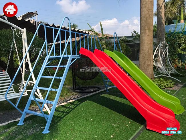 Sản xuất lắp đặt đồ chơi ngoài trời cho quán café vườn tại Hà Nội-8