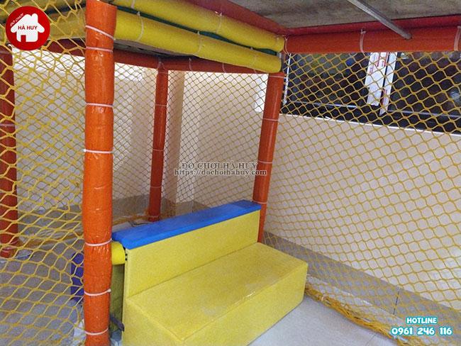 Sản xuất lắp đặt nhà liên hoàn trong nhà tại Athena Xuân Phương, Hà Nội-12