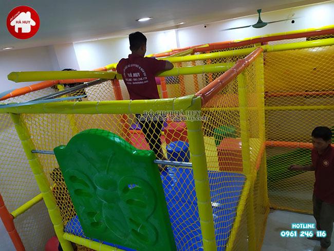 Sản xuất lắp đặt nhà liên hoàn trong nhà tại Athena Xuân Phương, Hà Nội-14