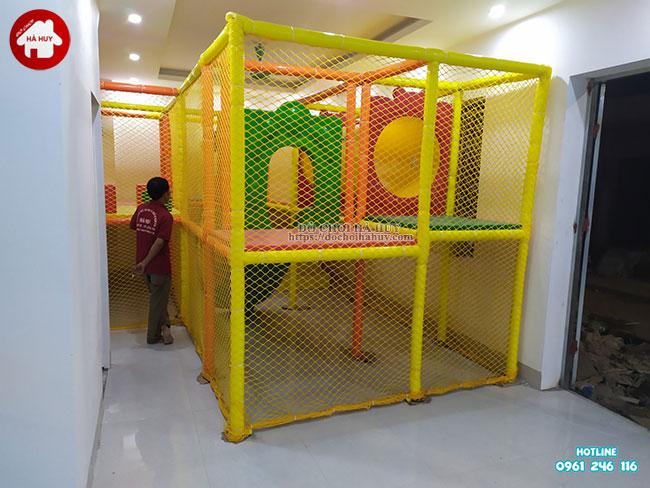 Sản xuất lắp đặt nhà liên hoàn trong nhà tại Athena Xuân Phương, Hà Nội-17