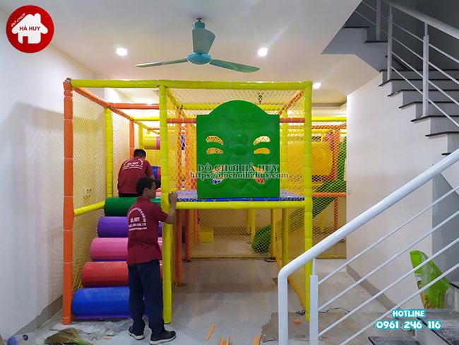 Sản xuất lắp đặt nhà liên hoàn trong nhà tại Athena Xuân Phương, Hà Nội-2
