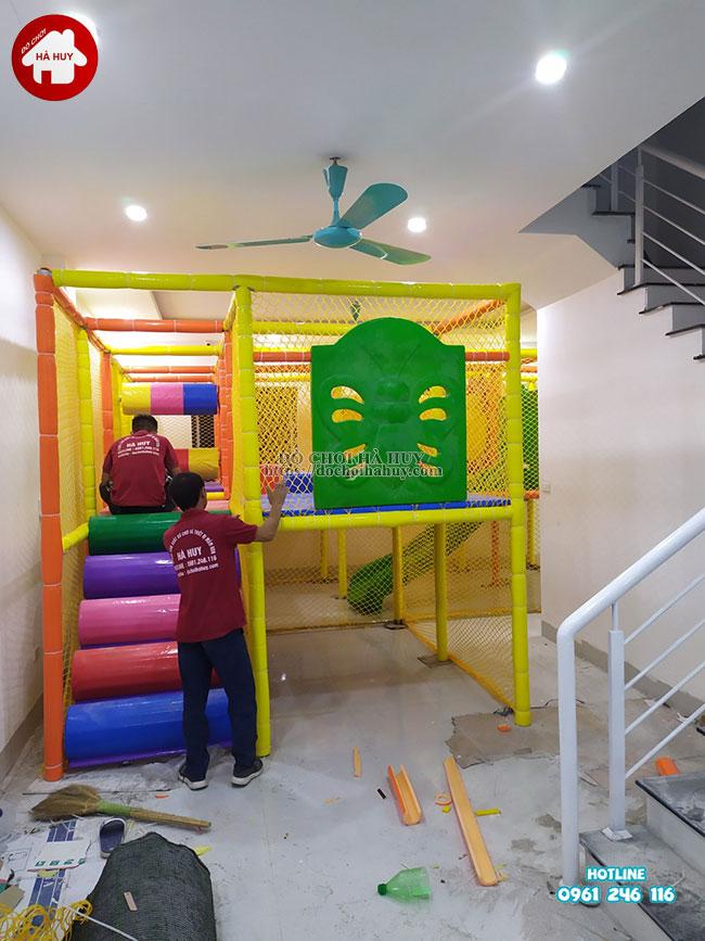 Sản xuất lắp đặt nhà liên hoàn trong nhà tại Athena Xuân Phương, Hà Nội-3