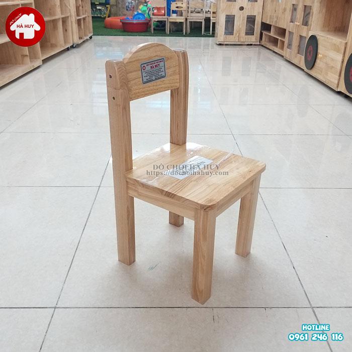 Review đánh giá sản phẩm ghế gỗ mầm non của đồ chơi Hà Huy-1
