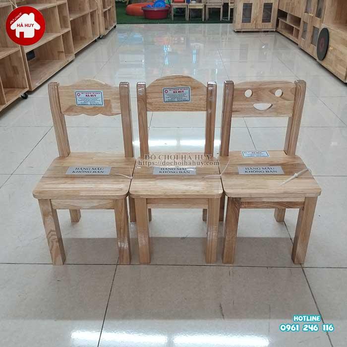 Review đánh giá sản phẩm ghế gỗ mầm non của đồ chơi Hà Huy-2