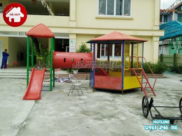 Sản xuất đồ chơi ngoài trời cho trường mầm non tại Bắc Ninh-1