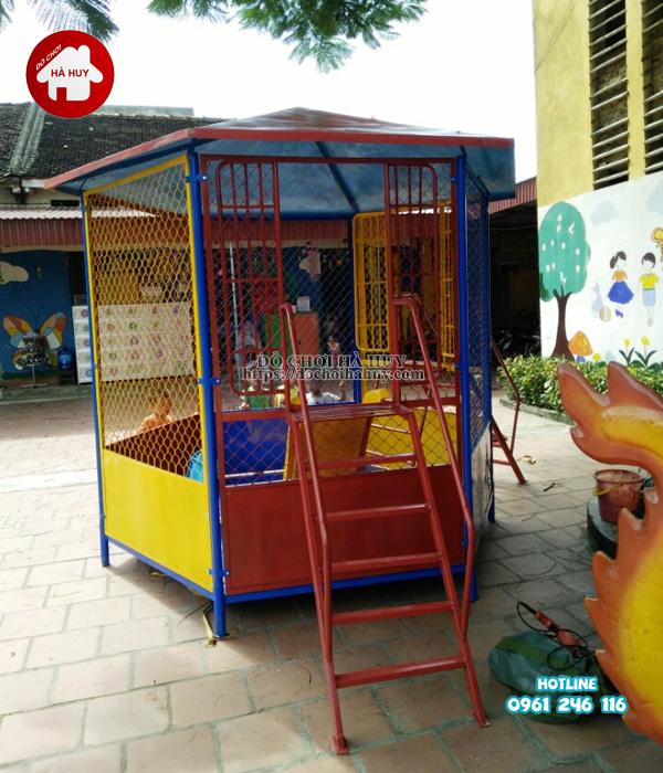 Sản xuất đồ chơi ngoài trời cho trường mầm non tại Bắc Ninh-2