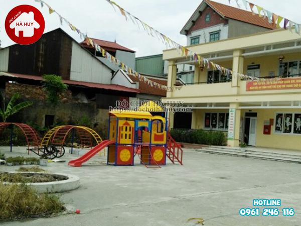 Sản xuất đồ chơi ngoài trời cho trường mầm non tại Bắc Ninh-3