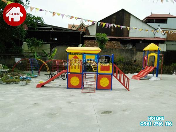 Sản xuất đồ chơi ngoài trời cho trường mầm non tại Bắc Ninh-4